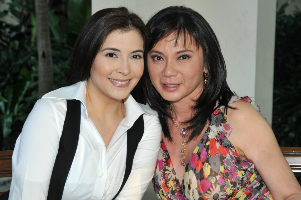 Dr. Vicki Belo with Bing Loyzaga
